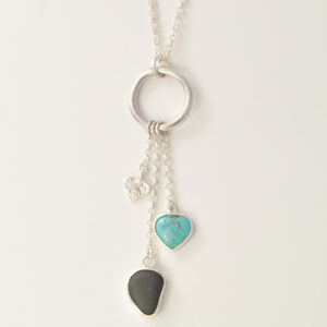 Silver-Pendant-turquoise